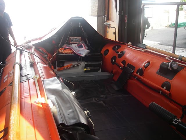 And another image of Appledore RNLI's boarding boat.